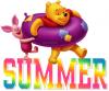 Winnie the Pooh & Piglet - Summer