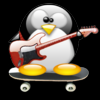 guitar penguin