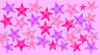 pink star patterng