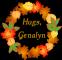 Autumn Wreath - Hugs, Genalyn