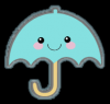 kawaii umbrella