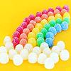 gum drop rainbow