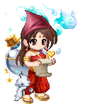 gaia online red girl avatar
