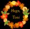 Autumn Wreath - Hugs, Toni