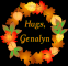 Autumn Wreath - Hugs, Genalyn
