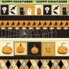 Cute Whimsical Halloween Background